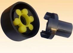 MLL-I型分体式制动轮梅花形弹性联轴器