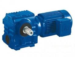 GS型斜齿轮蜗轮蜗杆减速电动机