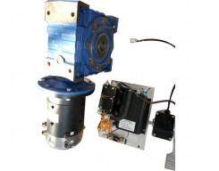 直流蜗轮减速电机及控制
